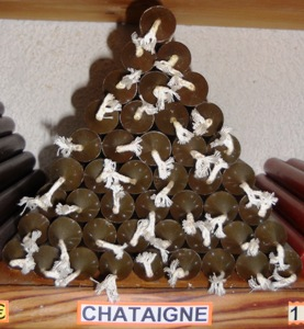 bougie chataigne